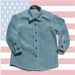 Toddler boy's button up shirt by Good Boy Friday