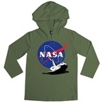 Boy's hooded shirt by Hank Player