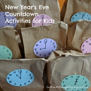 New Years Activities For Kids!