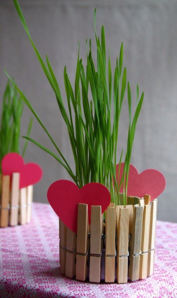 Mother's day craft flower pot