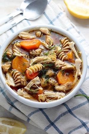 Flu Fighting Chicken Soup