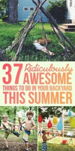 37 outdoor summer activities