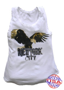 Californian Vintage New York eagle tank top