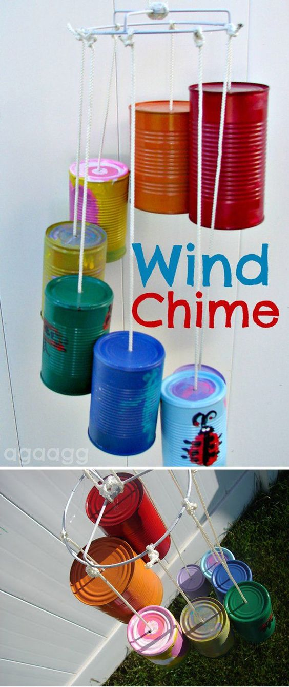 Diy spring and summer crafts wind chimes the boys store for Easy to make wind chimes