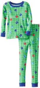 football themed boy's pajamas