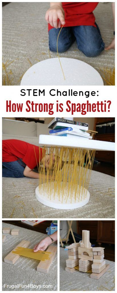 How strong is spaghetti