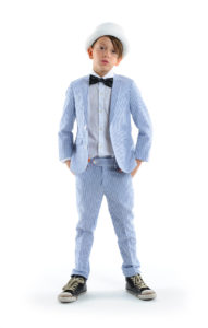 Easter looks - Chambray Mod Suit