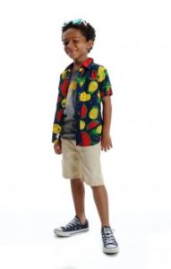 Summer Style boys clothing