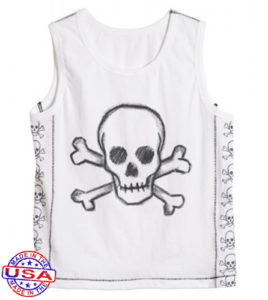 Tank tops - skulls and crossbones