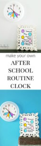 Back to school hacks - after school routine