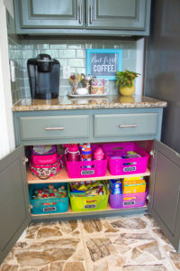 Back to school hacks - lunch station