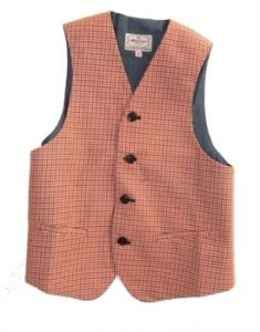 boys vest by la miniatura