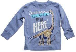 Brontosaurus wes and willy shirt