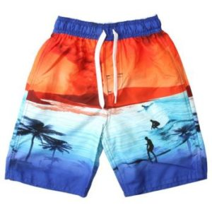 Summer comes early volcano swim trunks