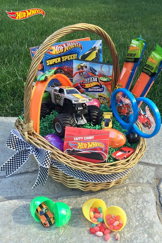 Easter ideas the boys store blog 5 years to 9 years old hot wheels easter ideas negle Choice Image