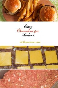 Simple dinners sliders